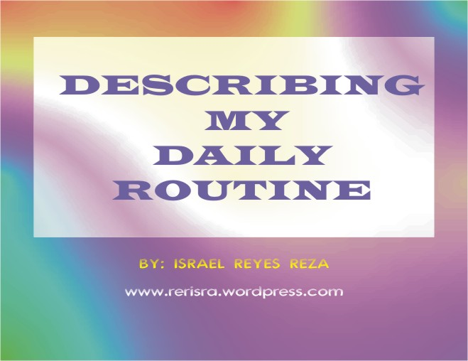your daily activity essay Free essay: your daily routines: then and now day | before college | after  college | sunday | my daily routine before college on a sunday.